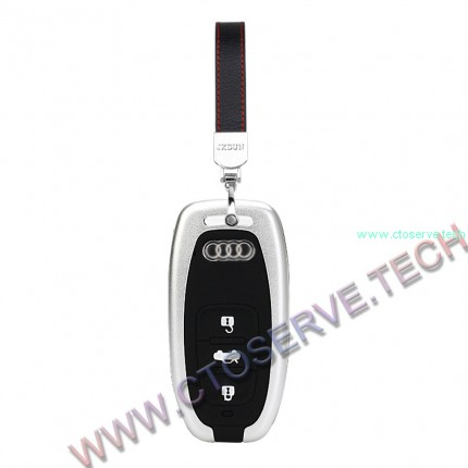 Aluminium & Silicon Key Fob Covers for Audi--HHYE0125