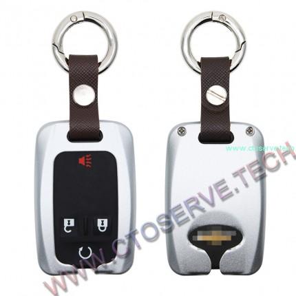 Aluminium Key Fob Covers for Chevrolet--HHYE0129