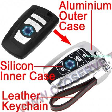 Aluminium & Silicon Key Fob Covers for BMW--HHYE0128